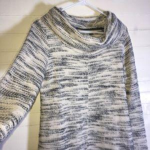 Lou & Grey Cowl Neck Knit Dress
